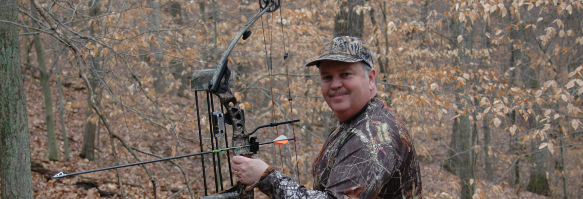 Troy McCormick bow hunting for Bootprints.tv