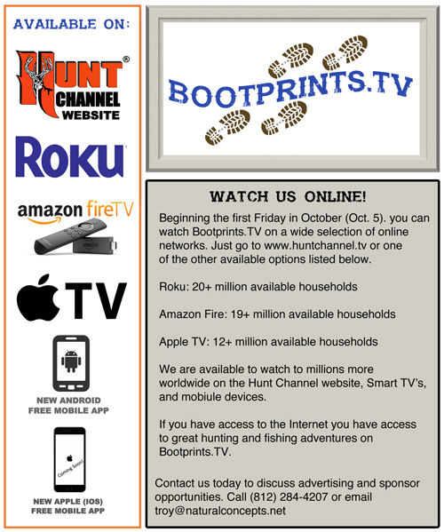 Home - BOOTPRINTS TV